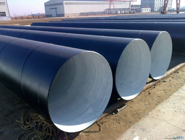 FBE Coated water transmission pipe