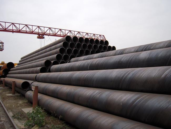 EN standard SSAW structure pipe