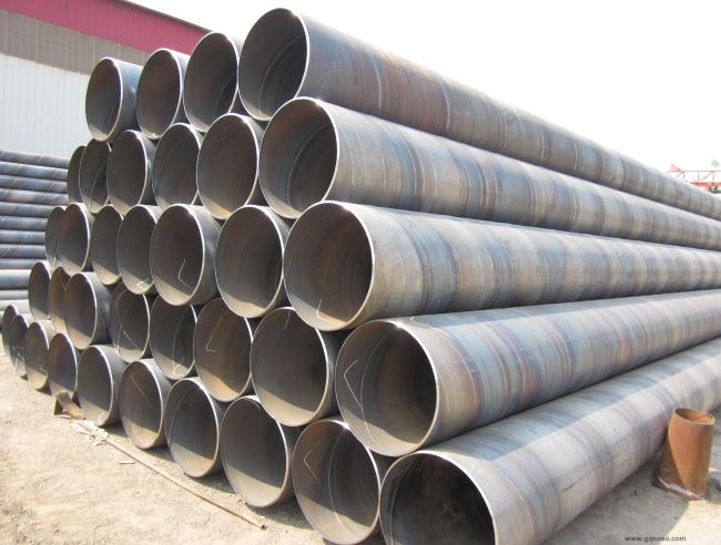 Large diameter SSAW Steel Pipe