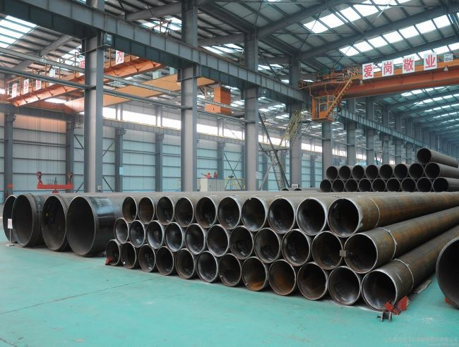 Port Construction Steel Pipe