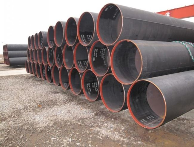 Large diameter LSAW piling pipe