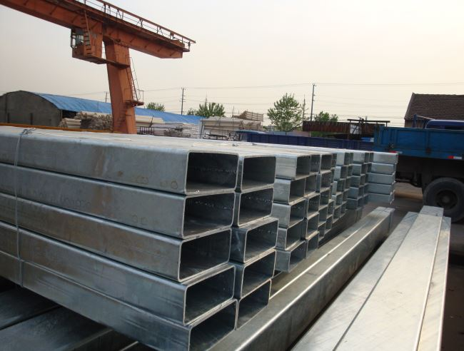 DIN 2394 Rectangular steel tube