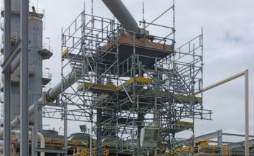 Singapore Scaffolding Structure Project