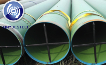 UK Coated Piling Pipe Project