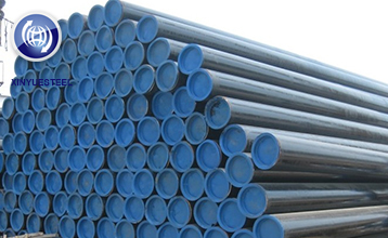 Which kind of steel pipes can be used for liquid transportation?