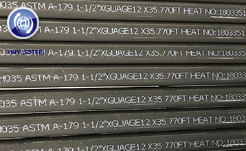 New Products Ready for Delivery---ASTM A179 seamless steel pipe