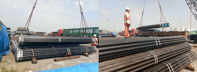 Seamless Pipes for South Africa Stockist customer