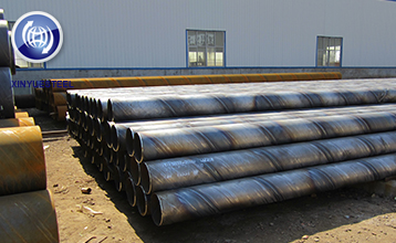 Inspection during production, Tianjin Xinyue Steel pursues progress in high standard