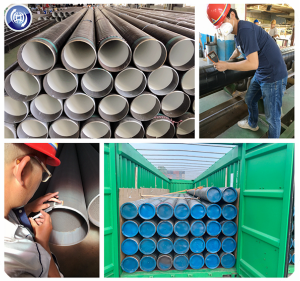 The Philippine airport fuel pipeline finished production successfully by Xinyue Steel