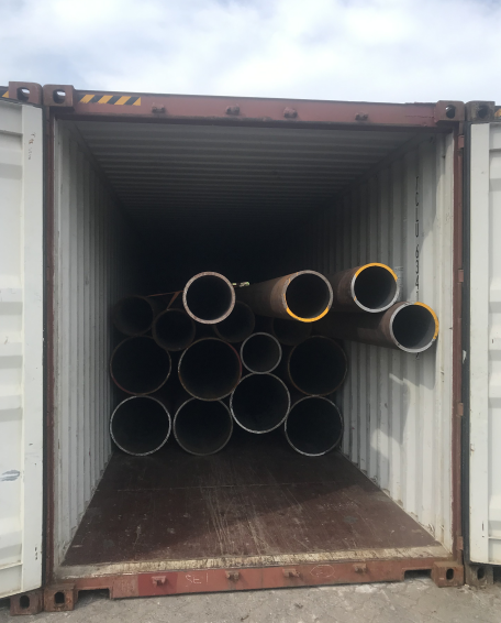 Successfully Delivery of Vietnam's thick-wall seamless pipe