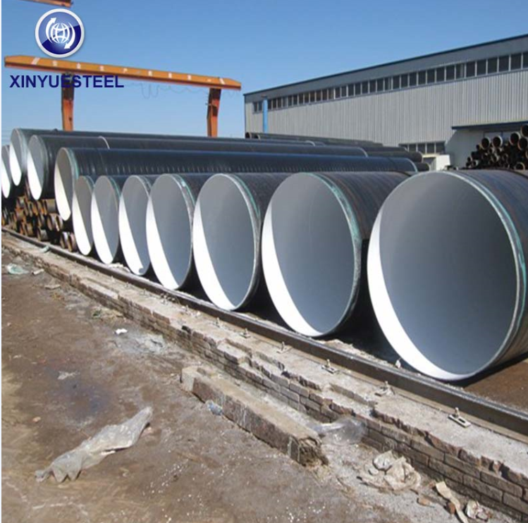 Xinyue Steel Serve for The Drinking Water Transmission Project in Middle East