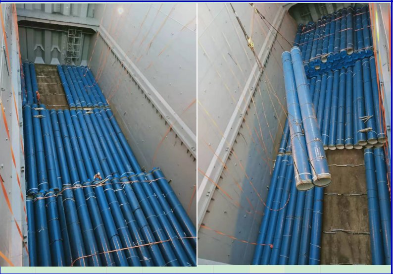 Drinking water SSAW steel pipe project delivered successfully