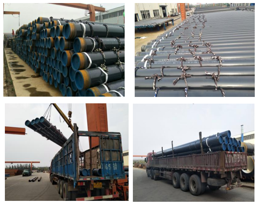 Successfully signed contract for 800 ton seamless pipe with Nigeria client